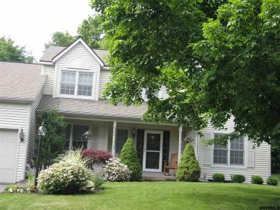 Guilderland NY Single Family Home Closed (Final Sale): $385,250