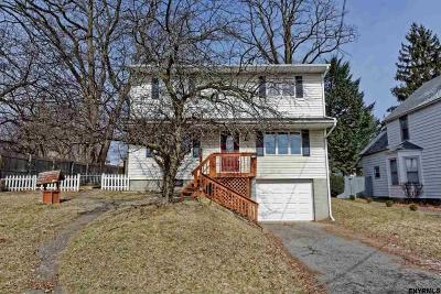 Niskayuna Single Family Home Price Change: 23 N Amherst Av