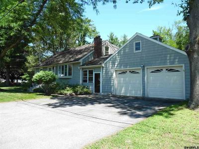 Guilderland Single Family Home For Sale: 2871 West Old State Rd