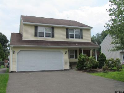 Colonie Single Family Home For Sale: 27 Wicken Sq