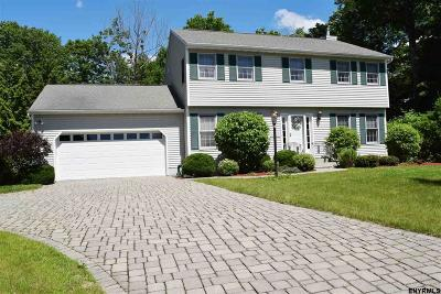 East Greenbush Single Family Home For Sale: 20 Crestview Dr