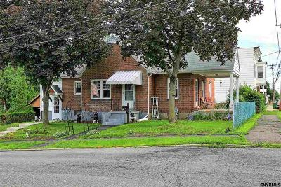 Cohoes Single Family Home For Sale: 99 Adams Av