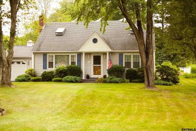 Niskayuna Single Family Home Price Change: 447 Wallace Rd