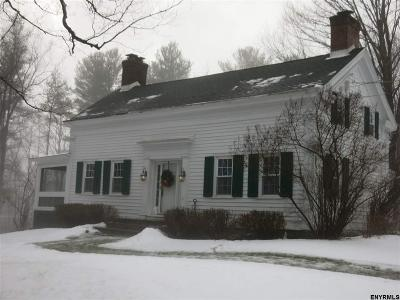 Saratoga County Single Family Home For Sale: 1 Featherbed La