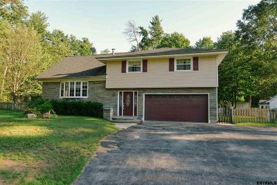 Saratoga County Single Family Home Price Change: 820 Greenwood Dr