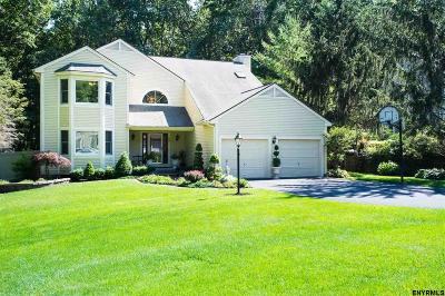 Clifton Park Single Family Home For Sale: 25 Orchard Park Dr