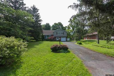 Niskayuna Single Family Home For Sale: 1020 Winne Rd
