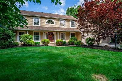 Clifton Park Single Family Home For Sale: 3 Wild Flower Way