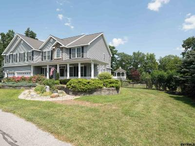 Saratoga County Single Family Home For Sale: 49 Cavalry Course