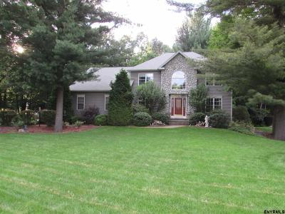 Clifton Park Single Family Home For Sale: 21 Four Leaf Manor Dr