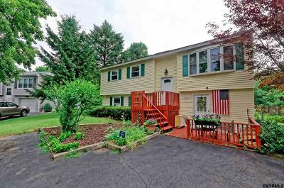 Voorheesville NY Single Family Home For Sale: $219,900