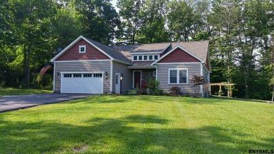 Niskayuna Single Family Home For Sale: 2566 Banker Av