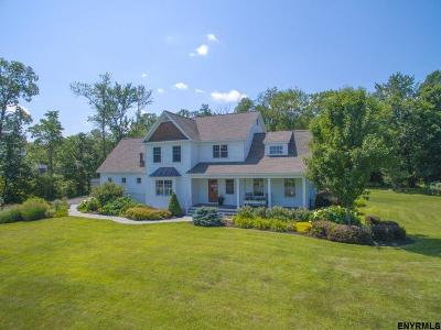 Malta Single Family Home For Sale: 11 Saratoga Farm Rd