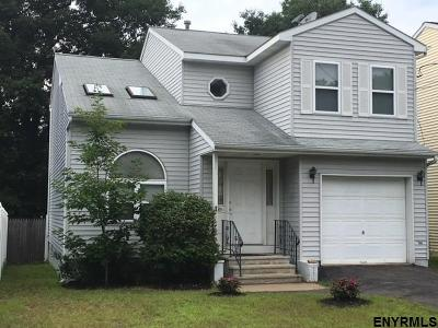 Schenectady Single Family Home For Sale: 491 Chadwick Rd