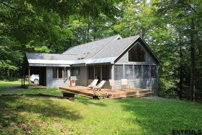 Saratoga County Single Family Home For Sale: 567 North End Rd