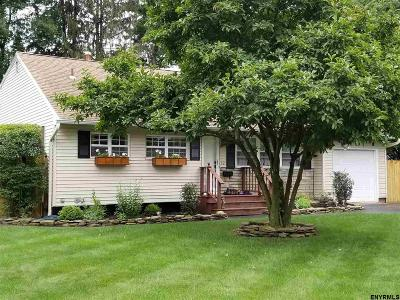 Guilderland Single Family Home New: 32 Terry Av