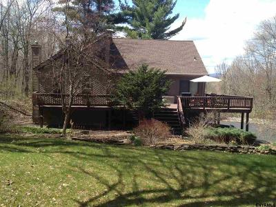 Saratoga Single Family Home For Sale: 134 Wagmans Ridge Rd