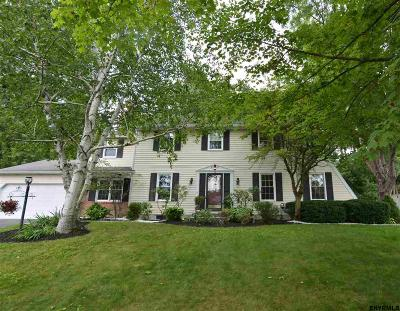 Colonie Single Family Home For Sale: 23 Green Meadows La