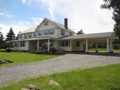 Saratoga Single Family Home For Sale: 611 Route 32