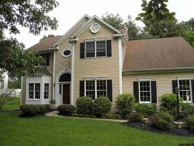 Clifton Park Single Family Home For Sale: 34 Castle Pines