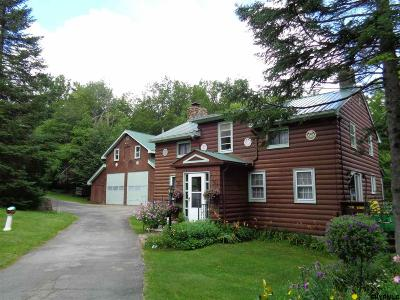 Albany County, Saratoga County, Schenectady County, Warren County, Washington County Single Family Home For Sale: 171 Lens Lake Rd