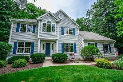 Saratoga County Single Family Home For Sale: 3 Plantation Crest