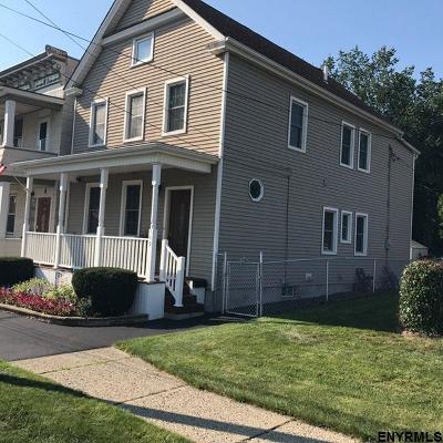 Cohoes Single Family Home For Sale: 149 Hudson Av