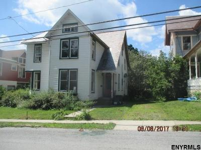 Rensselaer County Single Family Home Price Change: 28 Abbott St