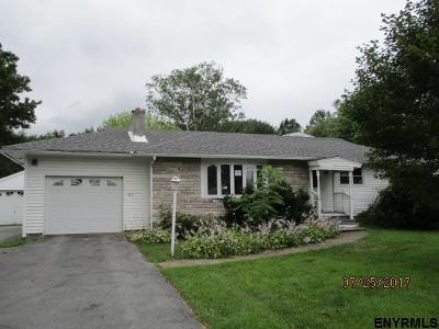 Saratoga County Single Family Home For Sale: 385 Gansevoort Rd