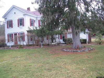 Voorheesville Single Family Home For Sale: 5565 Grant Hill Rd