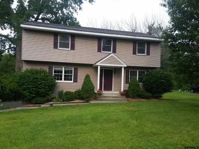 Saratoga County Single Family Home For Sale: 12 Domenica Dr