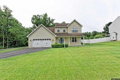 Niskayuna Single Family Home For Sale: 2184 River Rd