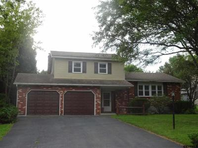 Colonie Single Family Home For Sale: 9 Fairway La