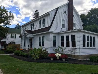 Saratoga Single Family Home Price Change: 216 Church St