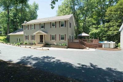 Troy Single Family Home For Sale: 201 Pinewoods Av