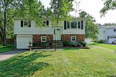 East Greenbush Single Family Home For Sale: 1 Garfield Pl