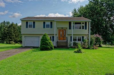 Saratoga County Single Family Home For Sale: 16 Barley Ct