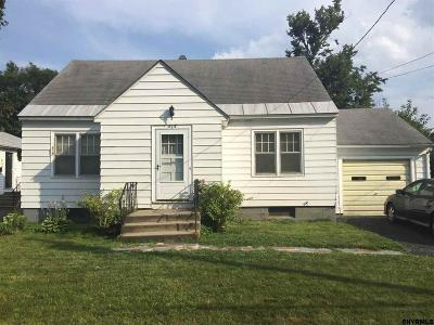 Schenectady Single Family Home New: 318 Sullivan Rd