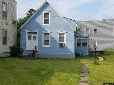 Cohoes Single Family Home For Sale: 65 Adams Av
