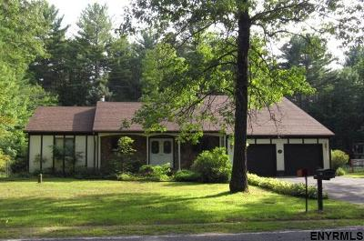 Saratoga County Single Family Home For Sale: 168 Butler Rd