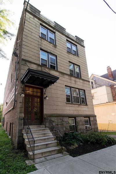 Albany Multi Family Home Price Change: 582 Park Av