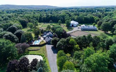 Saratoga County Single Family Home For Sale: 489 Stage Rd