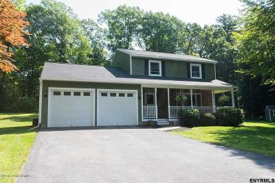 Saratoga County Single Family Home For Sale: 19 Woodland Dr