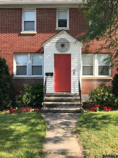 Troy Single Family Home New: 307 Hoosick St