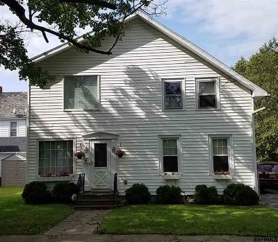 Gloversville Single Family Home For Sale: 65 Woodward Av