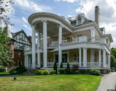 Saratoga Springs Single Family Home For Sale: 48 Union Av