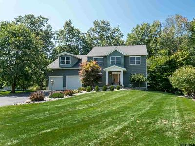 Saratoga County Single Family Home For Sale: 6 Wildberry Ct