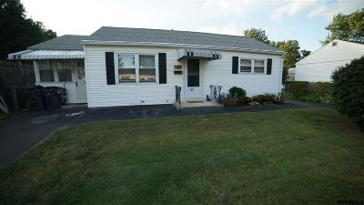 Colonie Single Family Home Back On Market: 52 Rooney Av