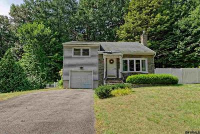Saratoga Springs Single Family Home For Sale: 4 Loughberry Lake Rd
