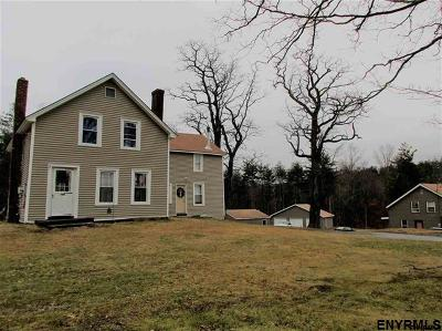 Rensselaer County Single Family Home For Sale: 144-148 Methodist Farm Rd
